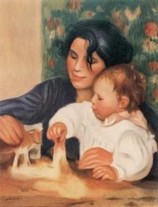 Gabrielle e Jean di Pierre Auguste Renoir