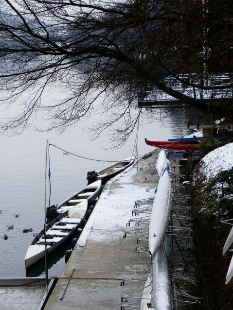 Barche sul Po al Valentino febb.2013