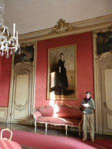 Palazzo Chiablese, ritratto della Regina Margherita di Savoia